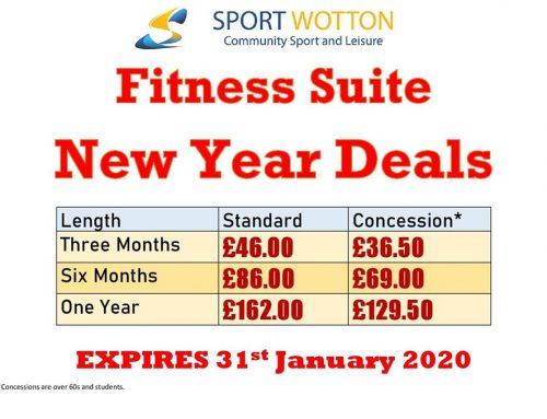 Fitness New Year Deals